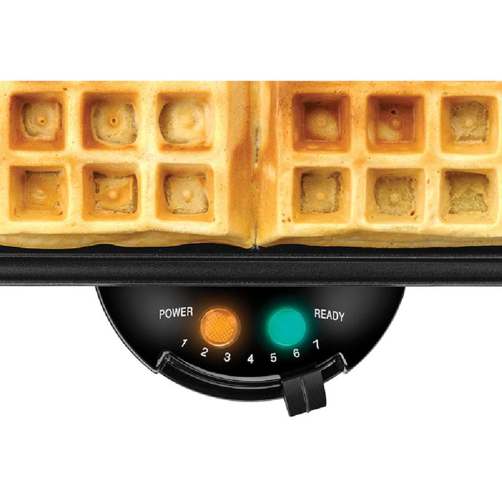 Unold Waffeleisen »WAFFELAUTOMAT 4er Brüsseler«, 1200 W, Für 4 kuchenartige Belgische Waffeln/Brüsseler Waffeln