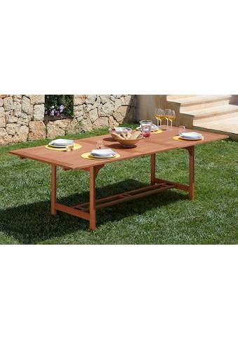 MERXX Gartentisch »Maracaibo«, 100x230 cm kaufen