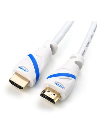 CSL Audio- & Video-Kabel »3-fach geschirmt | verschiedene Längen«, HDMI, 1000 cm kaufen