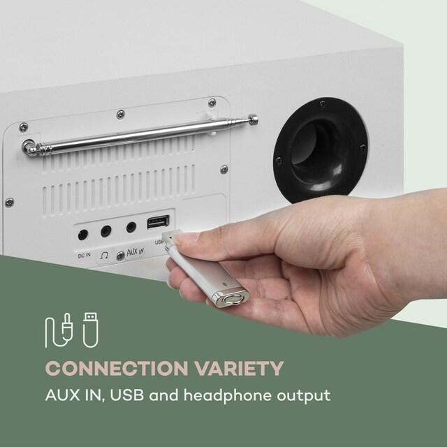 Auna Silver Star CD-DAB 2x20W max. Slot-In CD-Player DAB+ BT »SilverStar«