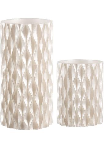 Pauleen LED-Kerze »Cosy Pearl«, Wachskerze, Weiss, Timer kaufen