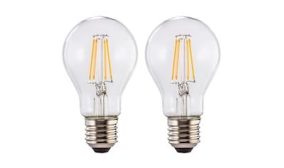 Xavax LED-Filament »warmweiß, 2 Stück Glühbirne«, E27, 2 St., Warmweiß kaufen