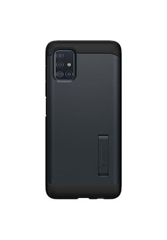 Spigen Smartphone-Hülle »Spigen Galaxy A51 Case Tough Armor Metal Slate«, Beständig kaufen