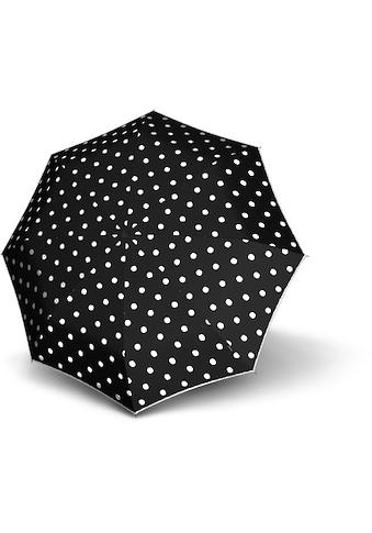 Knirps® Taschenregenschirm »T.010 Small Manual, Dot Art Black« kaufen