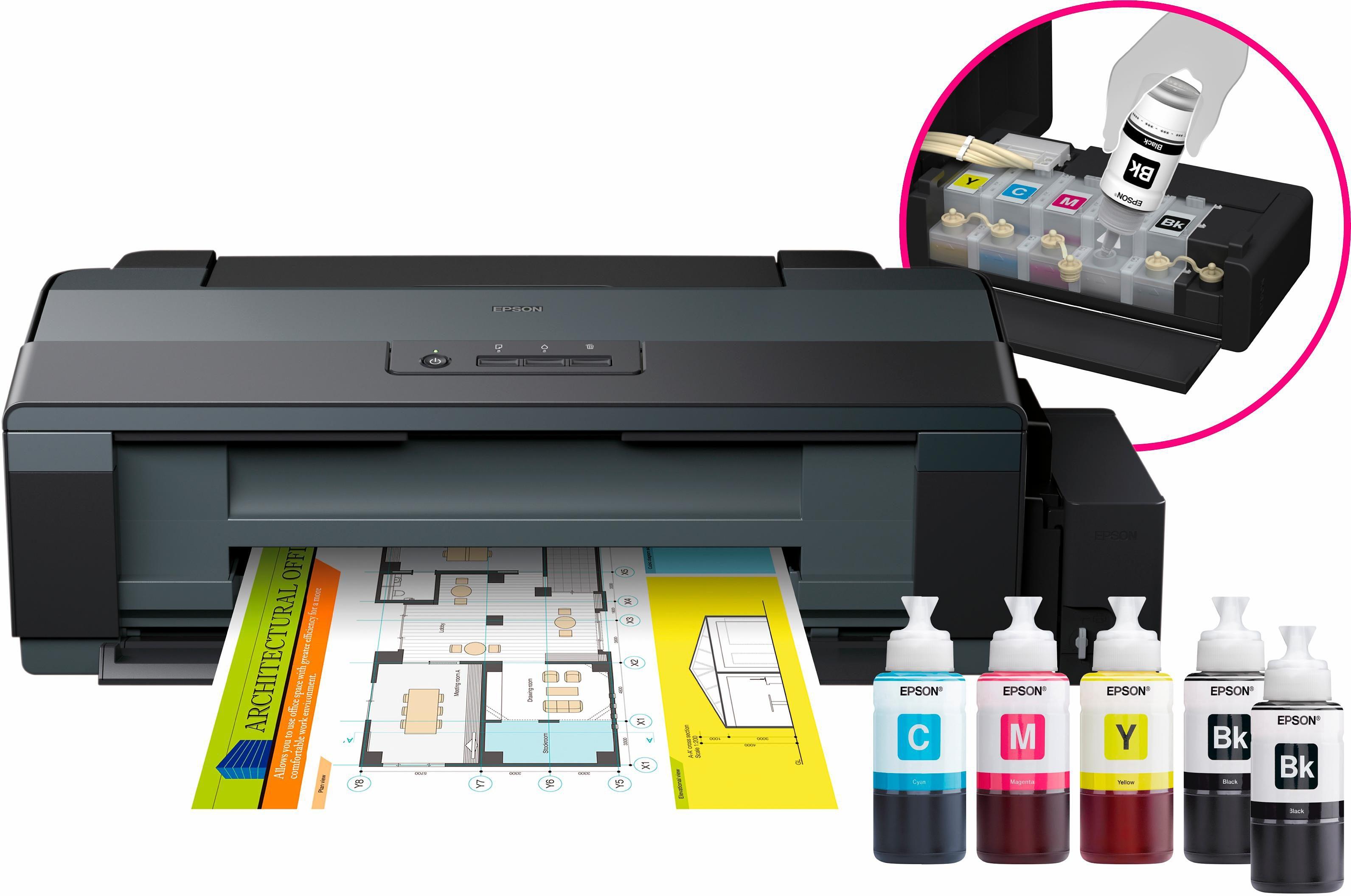 epson ecotank et 14000 tintenstrahldrucker auf rechnung. Black Bedroom Furniture Sets. Home Design Ideas