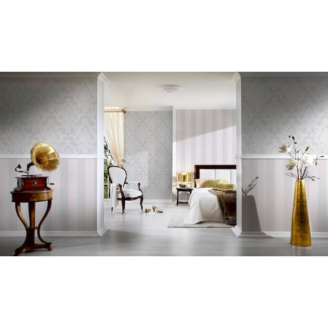 LIVINGWALLS Vliestapete »Elegance neo barock«, mit Ornamenten