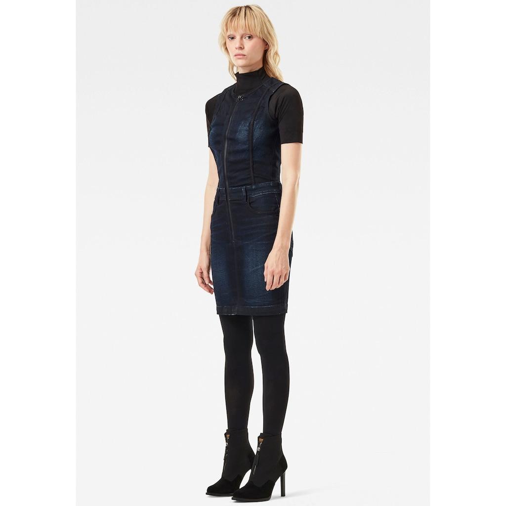 G-Star RAW Jeanskleid »Lynn Type 30 Kleid«, ärmellos mit durchgehenden Reißverschluss