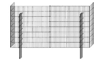 BELLISSA Mauersystem »Gabionenzaun Limes«, Basisbausatz, LxT: 230x23 cm, versch. Höhen kaufen