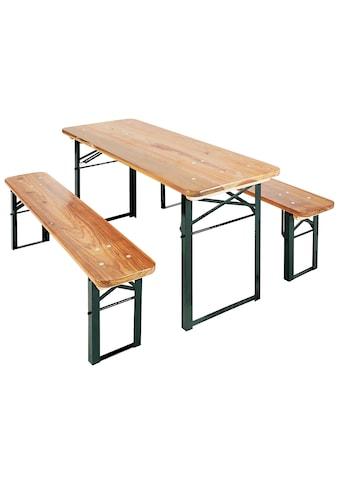Pinolino® Kindersitzgruppe »Sepp«, Picknicktisch, BxHxT: 110x40x54 cm kaufen