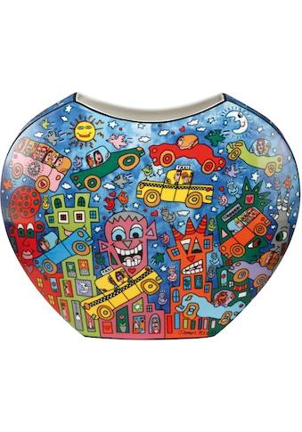 Goebel Dekovase »Not Getting Around the Traffic«, von James Rizzi kaufen