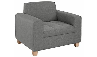 Home affaire Sessel »Corby«, Steppung auf Sitzfläche kaufen