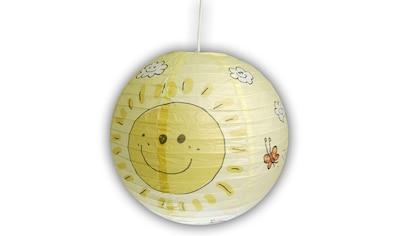 niermann Hängeleuchte »Sunny«, E27, 1 St., Papier-Pendelleuchte Sunny kaufen