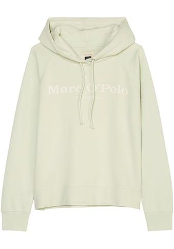 Marc O'Polo Kapuzensweatshirt, mit Wording-Print kaufen