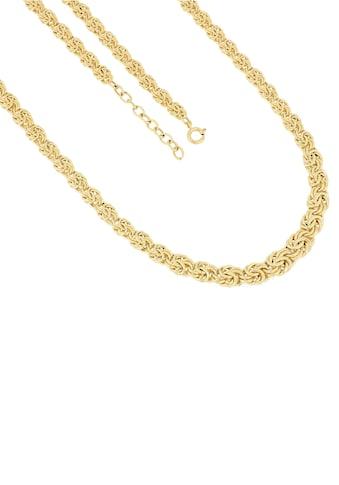 Firetti Goldkette »Königskettengliederung, 9,9 mm breit im Verlauf, glanzvoll, ziseliert« kaufen