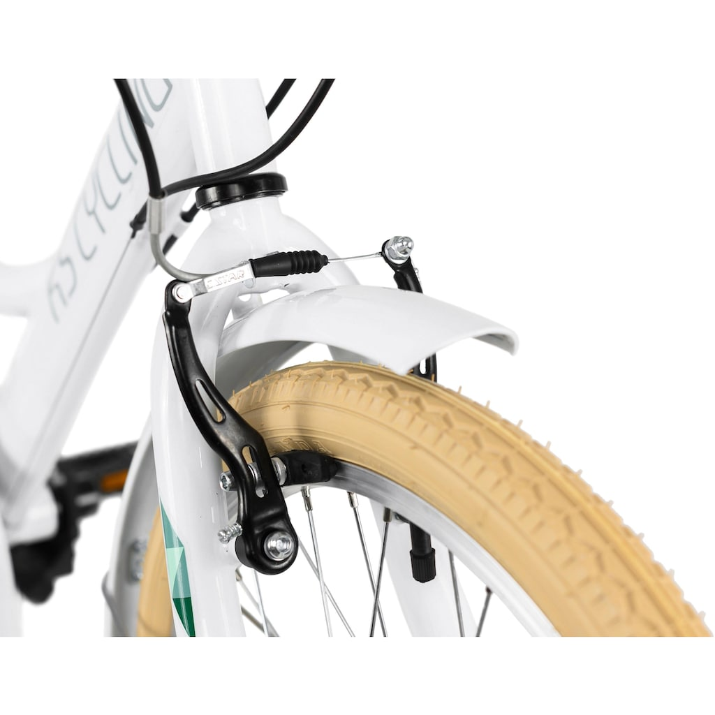 KS Cycling Jugendfahrrad »Toscana«, 6 Gang, Shimano, Tourney Schaltwerk, Kettenschaltung
