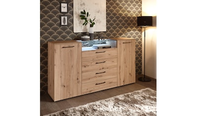 Schlafkontor Kombikommode »Solid«, im warmen Dekor Artisaneiche, inkl. LED-Beleuchtung kaufen