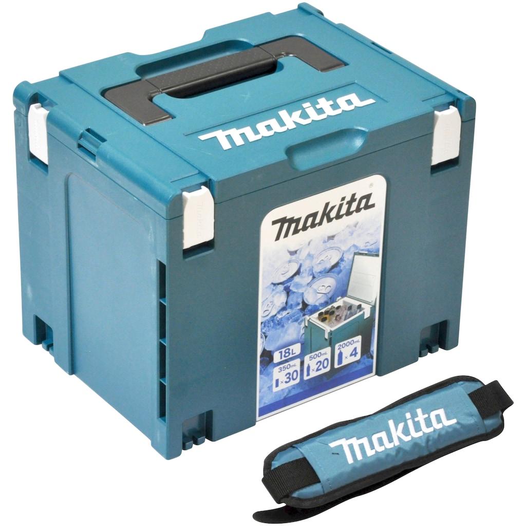 Makita Kühlbox »MAKPAC Gr. 4«, isoliert, inkl. Schultergurt