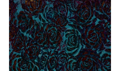 CONSALNET Papiertapete »Muster mit Rosen«, in verschiedenen Größen kaufen