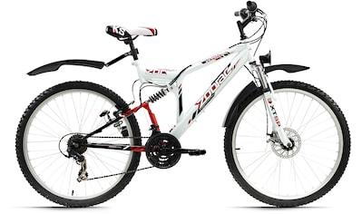 KS Cycling ATB »Zodiac«, 21 Gang Shimano Tourney Schaltwerk, Kettenschaltung kaufen