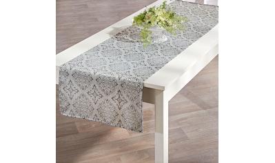 Delindo Lifestyle Tischläufer »TORONTO«, (1 St.), Fleckabweisend, pflegeleicht, 150 g/m² kaufen