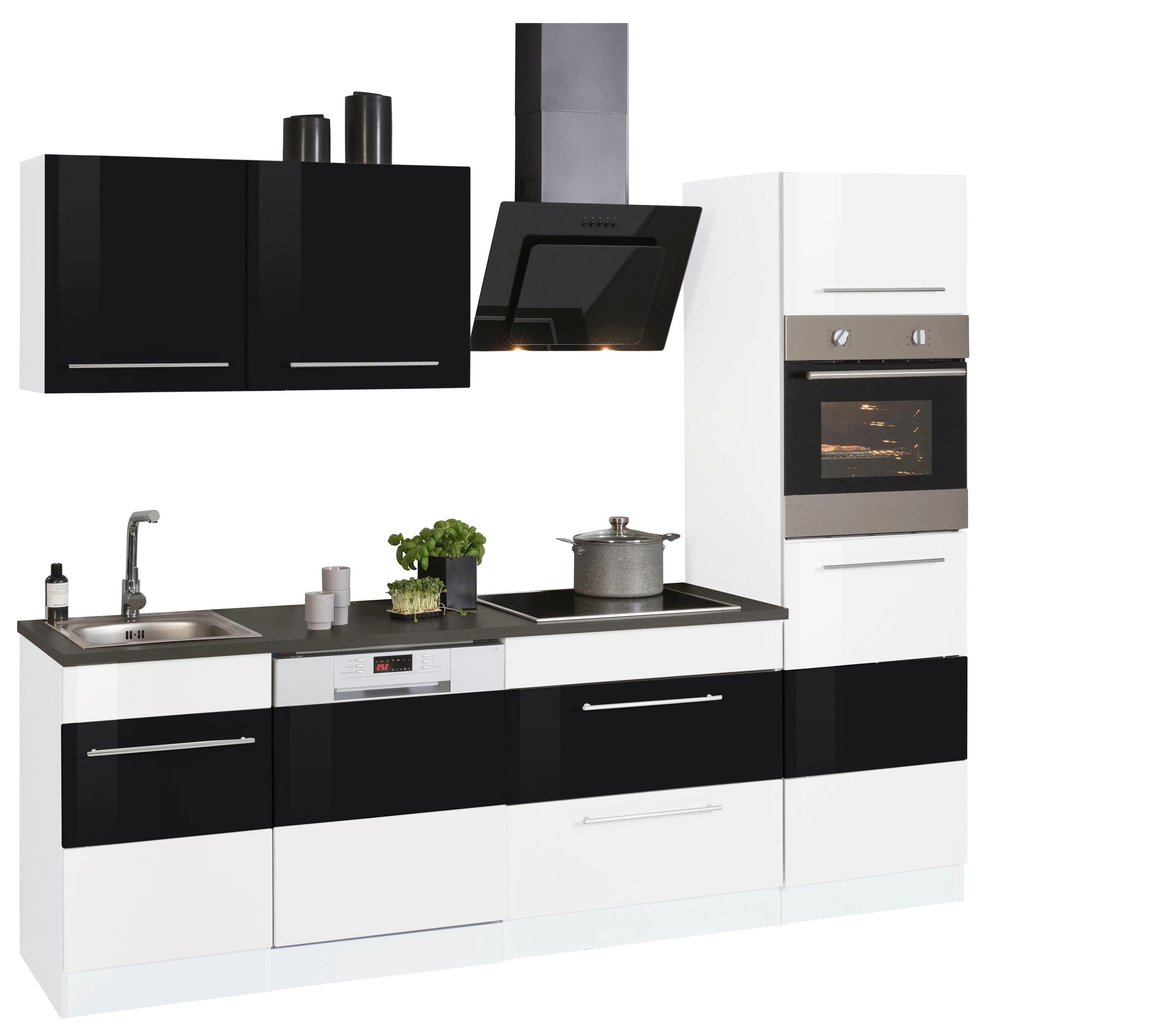 held m bel k chenzeile trient ohne e ger te breite 250. Black Bedroom Furniture Sets. Home Design Ideas