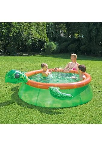 SummerWaves Rundpool »Schildkröte«, ØxH: 183x51 cm, mit Fontänenfunktion kaufen