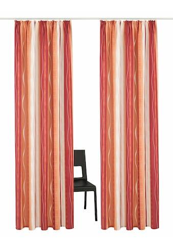 my home Vorhang »Macias«, Gardine, Fertiggardine, halbtransparent kaufen