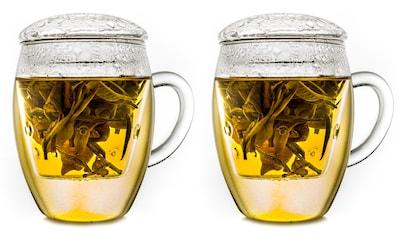 """Creano Gläser-Set »""""All-in-one""""«, (Set, 2 tlg., 2 Gläser, 2 Deckel, 2 Filter) kaufen"""