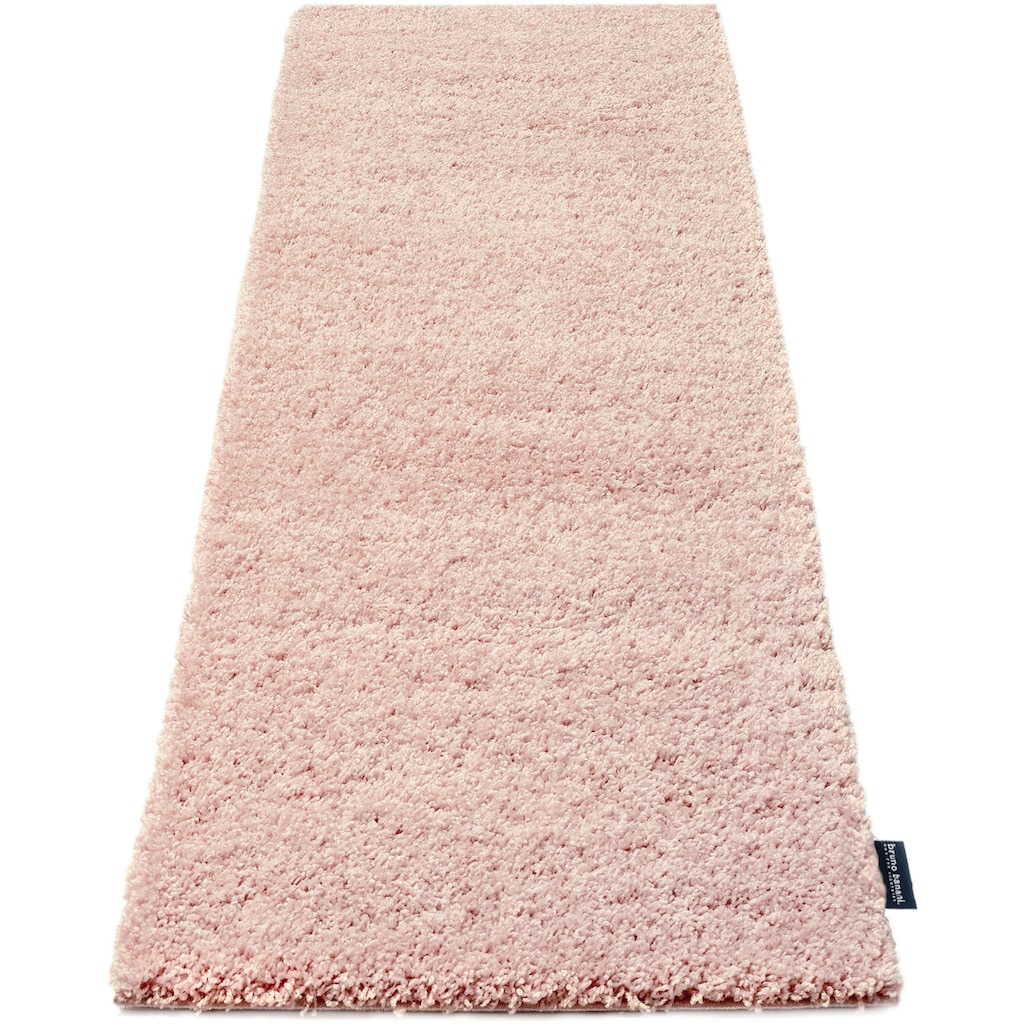Hochflor-Läufer, »Shaggy Soft«, Bruno Banani, rechteckig, Höhe 30 mm, maschinell gewebt