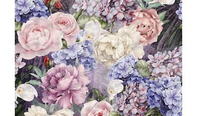 CONSALNET Papiertapete »Bunter Blumen Mix«, in verschiedenen Größen kaufen