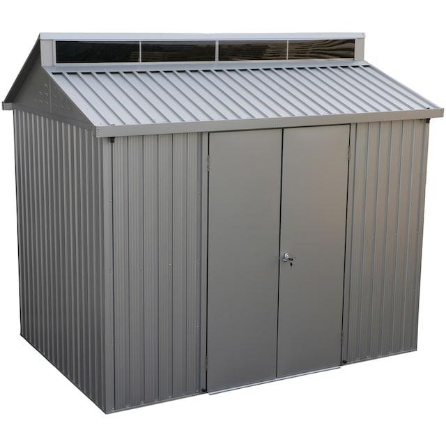 DURAMAX Metallgerätehaus »Alu Shed 8x6«, Aluminium, BxTxH: 263x183x232 cm