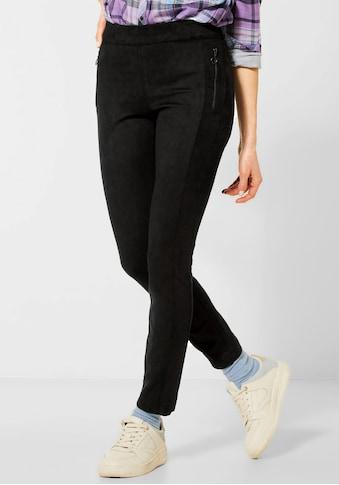 Cecil Röhrenhose »Style Vicky«, mit Reißverschlusstaschen kaufen