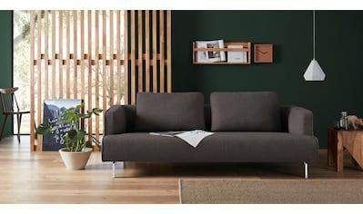 hülsta sofa 4-Sitzer »hs.440«, wahlweise in Stoff oder Leder, Spangenfüße glanzchrom kaufen