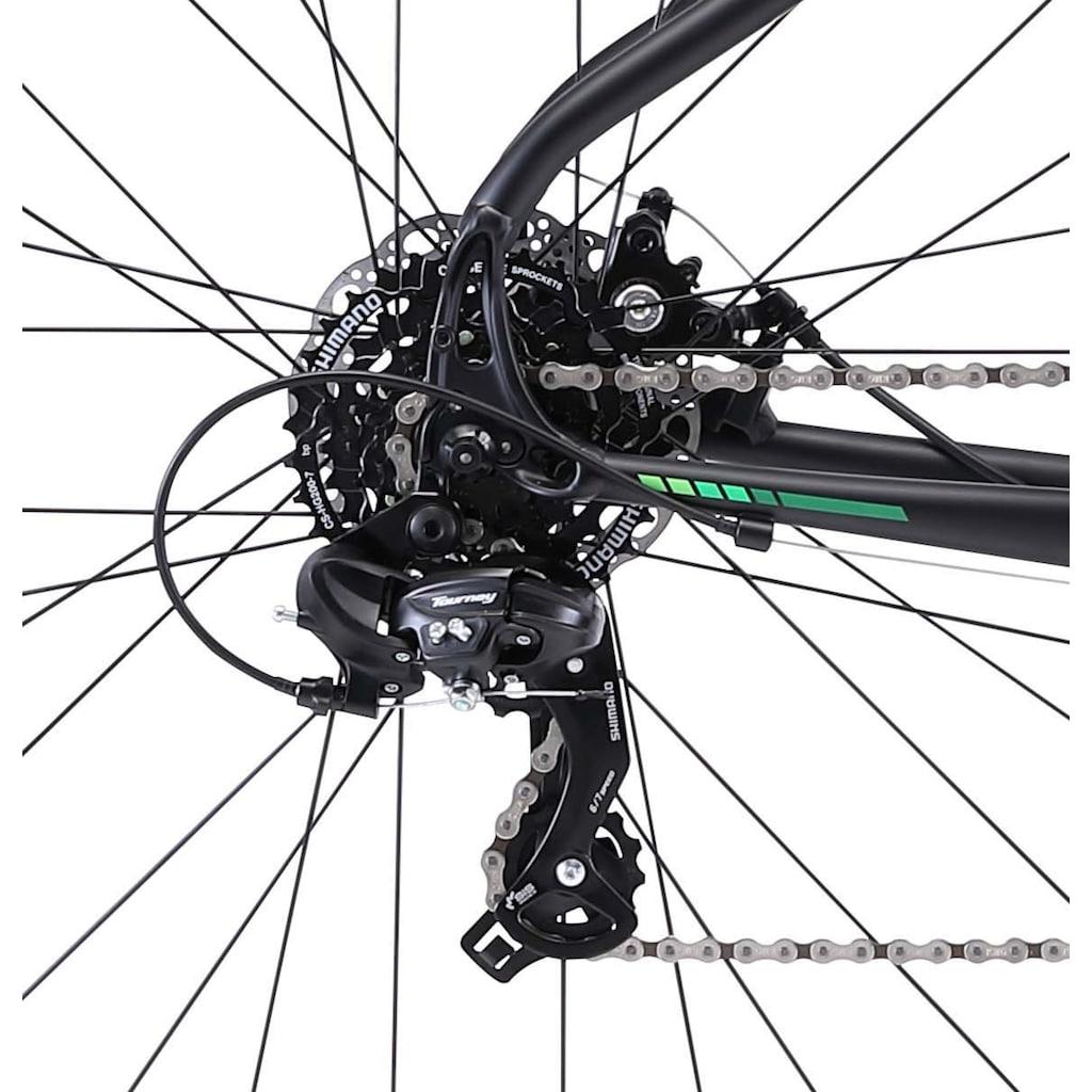 FUJI Bikes Fitnessbike »Traverse 1.7«, 21 Gang, Shimano, Tourney Schaltwerk, Kettenschaltung