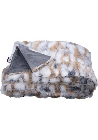 TOM TAILOR Wohndecke »Cosy Fur«, in Echtfelloptik kaufen