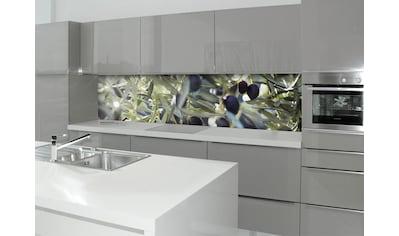 Küchenrückwand  -  Spritzschutz »profix«, Olivenbaum, 220x60 cm kaufen