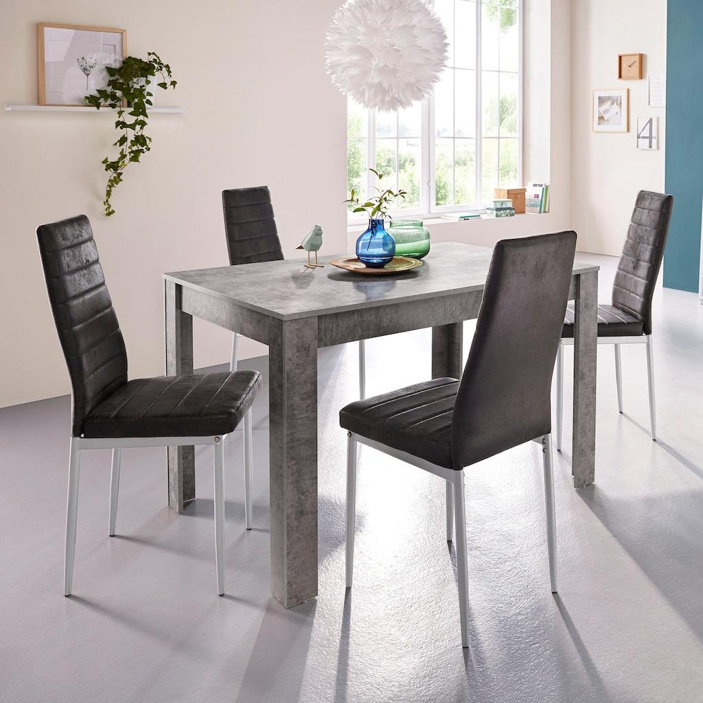my home Esstisch »Lynn«, Breite 120 cm