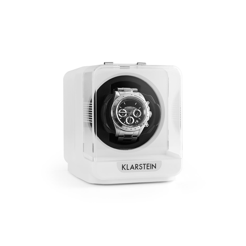 Klarstein Uhrenbeweger 1 Uhr 4 Modi weiß »Eichendorff«   Uhren > Uhrenbeweger   KLARSTEIN