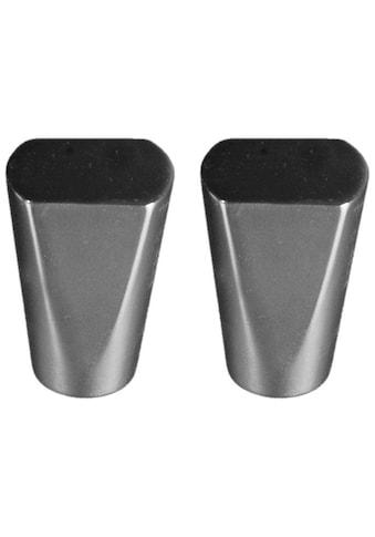 Gardinenstangen - Endstück »Dust«, Liedeco, passend für Gardinen (Set) kaufen