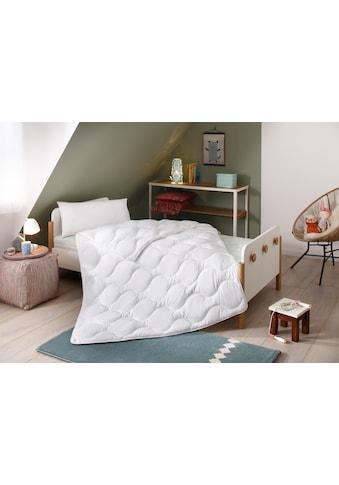 Lüttenhütt Kinderbettdecke + Kopfkissen »Micro«, (Spar-Set), strapazierfähig und... kaufen