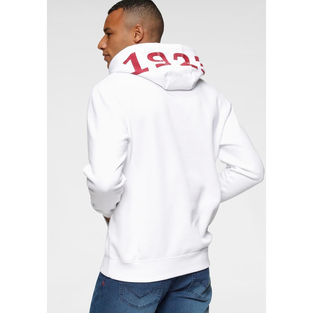 H.I.S Kapuzensweatshirt, mit Zahlenprint an der Kapuze