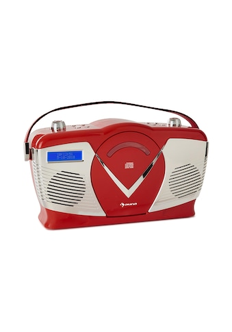 Auna auna RCD - 70 DAB Retro CD - Radio UKW DAB+ CD - Player USB Bluetooth »RCD70« kaufen