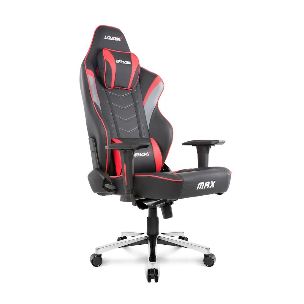 AKRacing Gaming Stuhl Master Max »rot«
