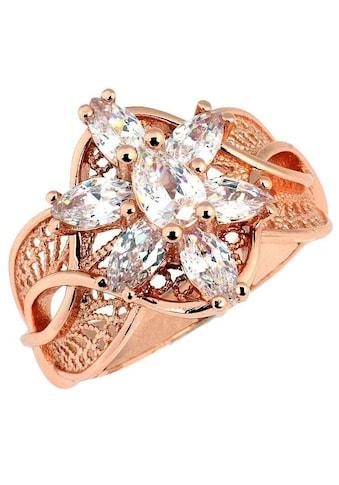 Der Herr der Ringe Fingerring »Arwens Abendstern Filigran  -  roségoldfarben, 20003784« kaufen
