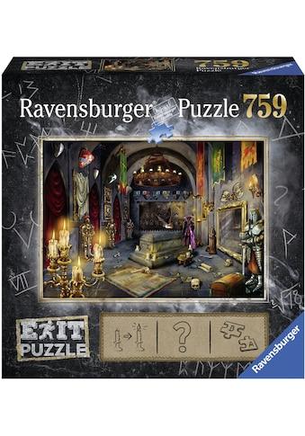Ravensburger Puzzle »Puzzle Exit 6: Im Vampirschloss«, Made in Germany, FSC® - schützt... kaufen
