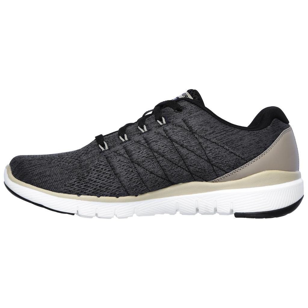 Skechers Sneaker »Flex Advantage 3.0«, mit gepolstertem Schaftrand