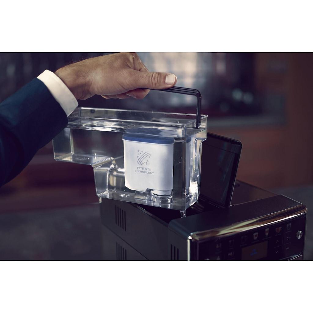 Saeco Kaffeevollautomat »SM5573/10 PicoBaristo Deluxe«, integriertes Milchsystem, edelstahl