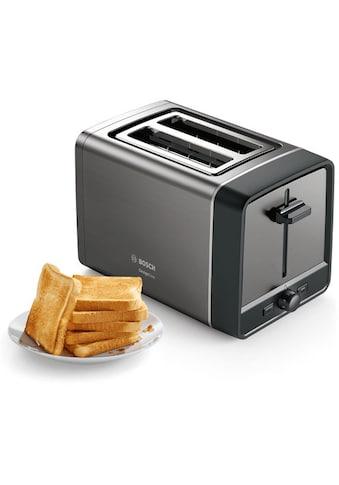 BOSCH Toaster »TAT5P425DE DesignLine«, 2 kurze Schlitze, 970 W kaufen