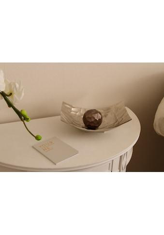 Myflair Möbel & Accessoires Dekoschale »Jasmin«, kleinsilber kaufen