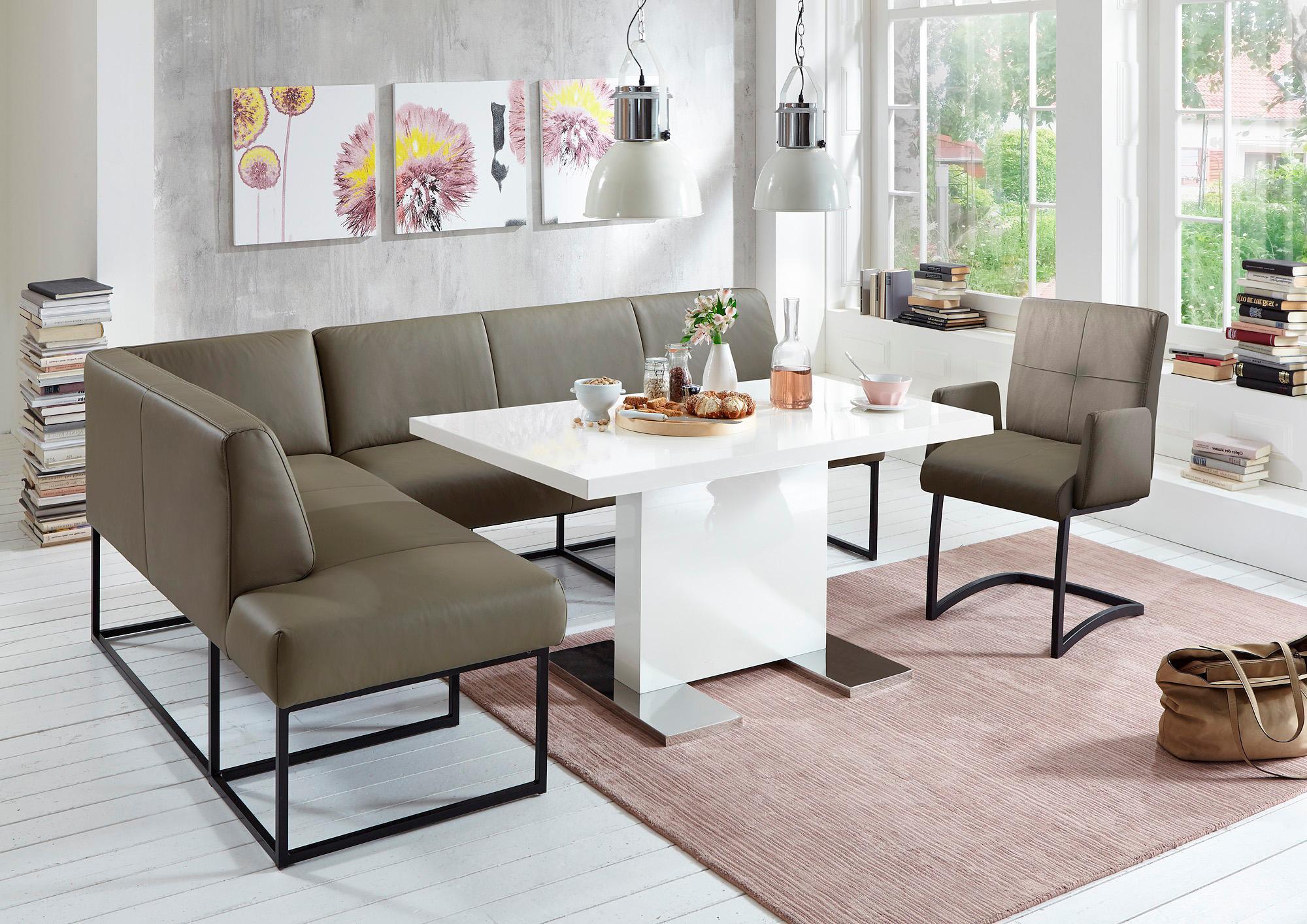 exxpo - sofa fashion Eckbank | Küche und Esszimmer > Sitzbänke > Eckbänke | Blau | EXXPO - SOFA FASHION